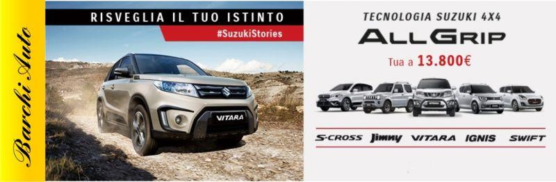 BARCHI AUTO offerta vendita Suzuki 4x4 Forlì - occasione vendita Suzuki 4x4 Ravenna