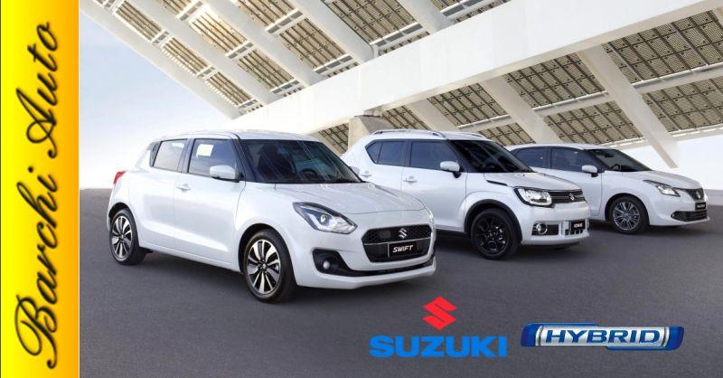 Promozione vendita gamma Suzuki Hybrid Ravenna - offerta nuovi modelli auto ibride Forlì