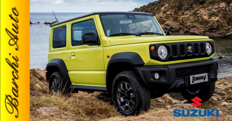 Promozione vendita nuovo Suzuki Jimny Ravenna - occasione nuova gamma Suzuki 4x4 Forlì