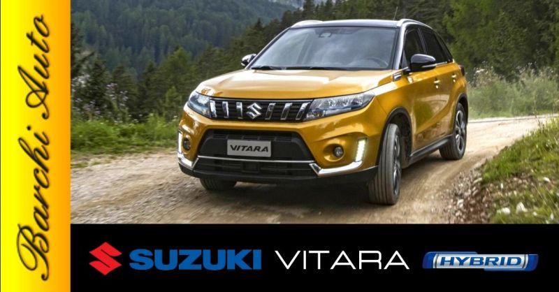 Promozione vendita Suzuki Vitara Hybrid Ravenna - Occasione gamma auto Suzuki ibride Forlì Cesena
