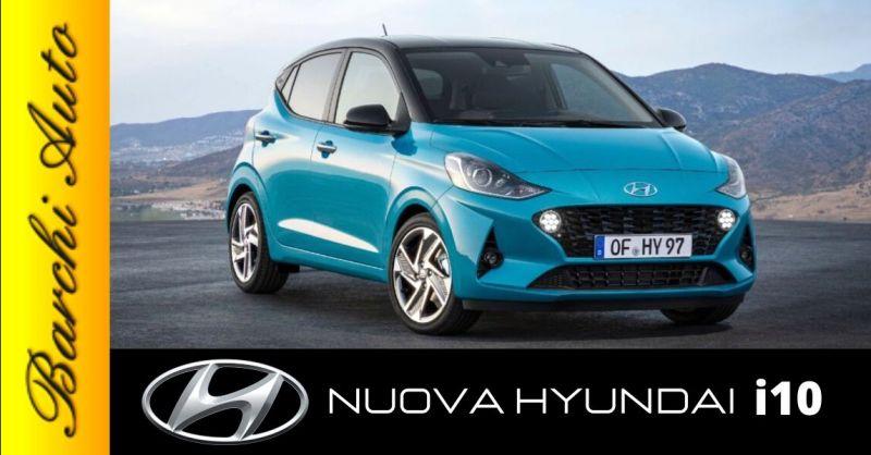 Offerta vendita nuova Hyundai i10 Ravenna - Occasione concessionario auto Hyundai Forlì Cesena