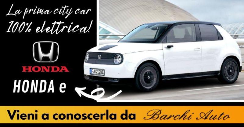 Offerta Concessionario autorizzato Honda Ravenna - Occasione vendita nuova Honda E elettrica Ravenna