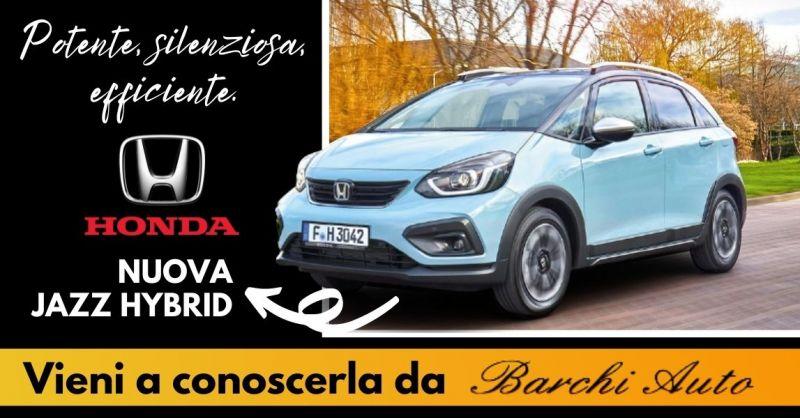 Offerta Vendita nuova Honda Jazz hybrid Ravenna - Occasione Vendita auto Honda ibrida Forlì Cesena
