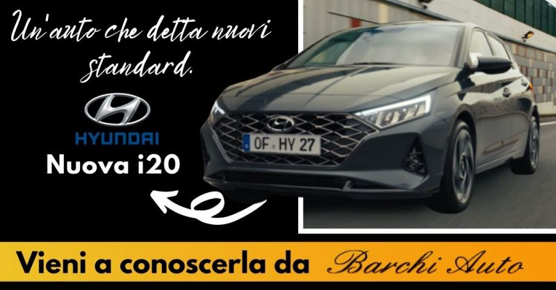 Offerta Vendita Nuova Hyundai i20 Ravenna - Occasione dove provare Hyundai i20 nuova a Forlì Cesena