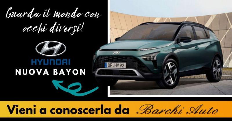 Offerta Vendita Nuova Hyundai Bayon a Ravenna - Occasione Suv Hyundai Bayon a Forlì Cesena