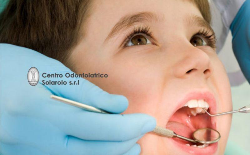 CENTRO ODONTOIATRICO SOLAROLO offerta igiene orale bambini  Ravenna