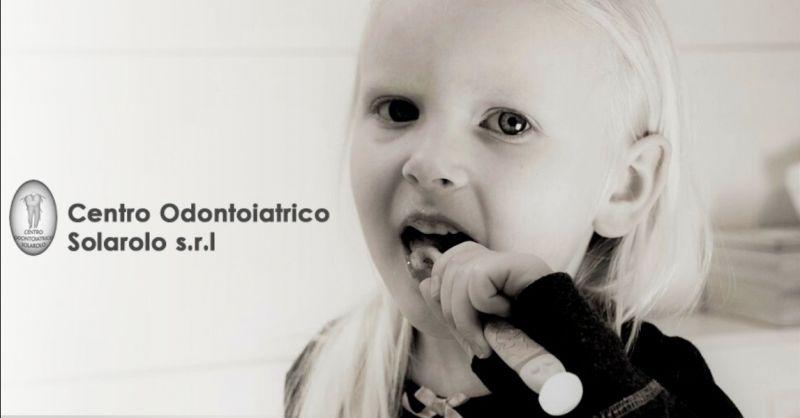 CENTRO ODONTOIATRICO SOLAROLO - Promozione dentista specializzato igiene orale bambini Ravenna