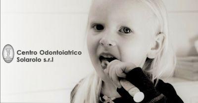 centro odontoiatrico solarolo promozione dentista specializzato igiene orale bambini ravenna