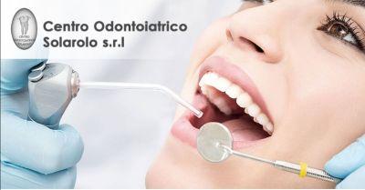 promozione pulizia dentale professionale ravenna offerta cure odontoiatriche solarolo ravenna