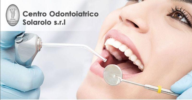 Promozione pulizia dentale professionale Ravenna - offerta cure odontoiatriche Solarolo Ravenna