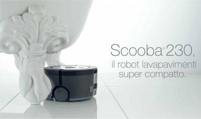 offerta robot lava pavimenti scooba 230 promozione robot scooba 230 tecnoricambi trieste