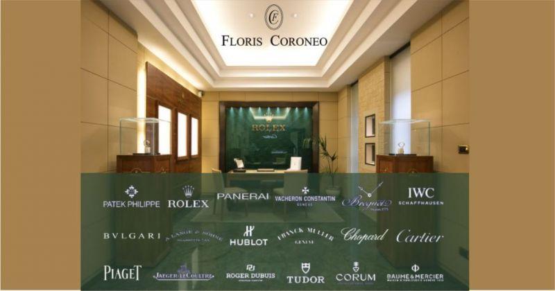 Floris Coroneo orologi di lusso Sardegna - servizio assistenza specializzata Rolex e Patek Philippe