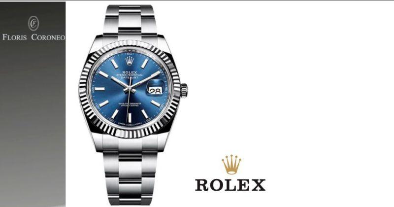 Floris Coroneo occasione orologio Rolex DateJust originale