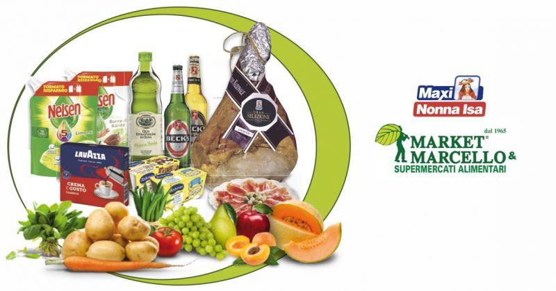 SUPERMERCATI MARCELLO - volantino Maxi Nonna Isa nuove offerte alimentari e ortofrutta Marzo 2020