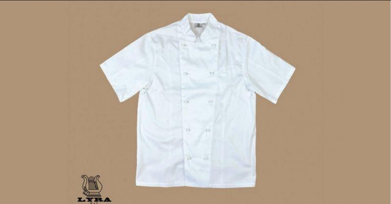 occasione vendita abbigliamento professionale per cuoco - LYRA SRL abbigliamento da lavoro