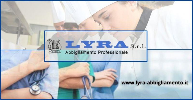occasione forniture abiti da lavoro e professionale in Toscana - LYRA SRL