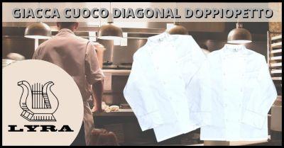 occasione giacca doppiopetto cuoco chef promozione abbagliamento chef cuoco toscana