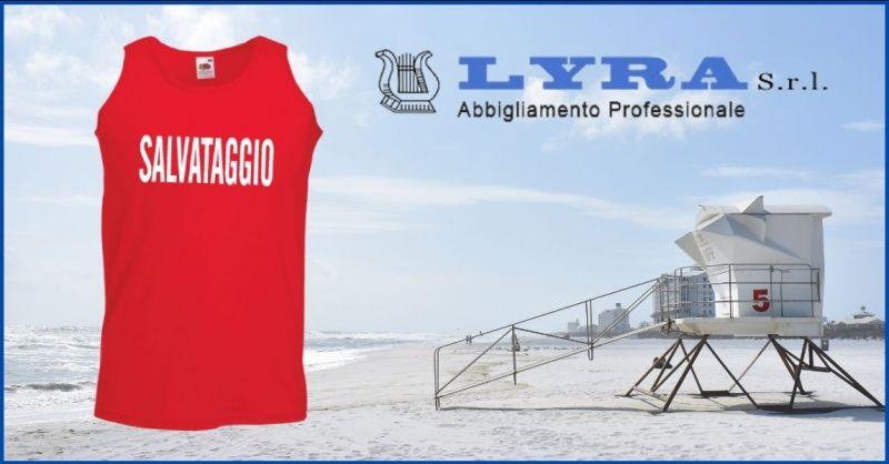 offerta capi di abbigliamento per bagnino salvataggio Lucca e Versilia - LYRA ABBIGLIAMENTO