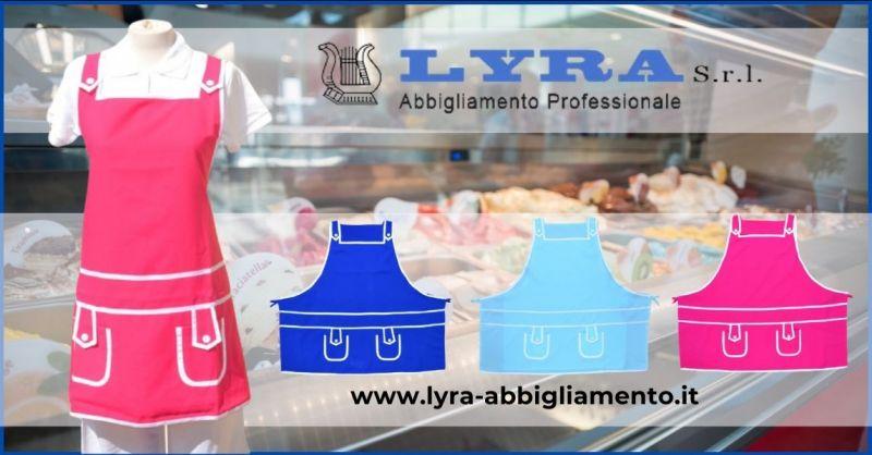 occasione abbigliamento professionale per gelaterie e alimentari Lucca - LYRA ABBIGLIAMENTO PROFESSIONALE