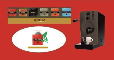 promozione negozio vendita macchine e cialde da caffe poggibonsi coffee shop