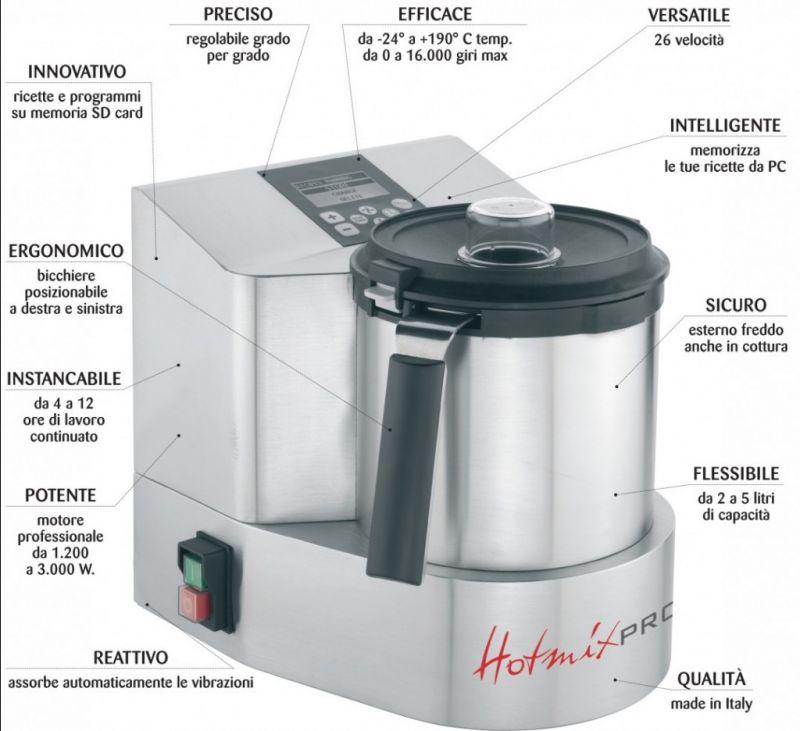 mixer termico professionale omogeneizzatore bimby cutter vicenza veneto italia offerta