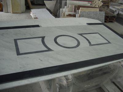 realizzazione pavimenti in marmo ad intarsio