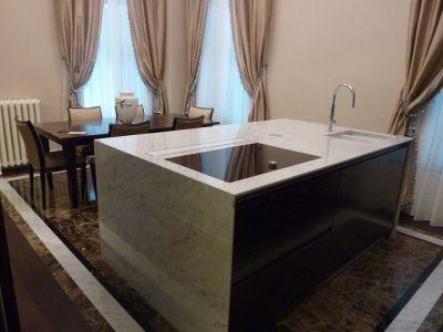 fornitura e vendita piani top cucina marmo sanremo