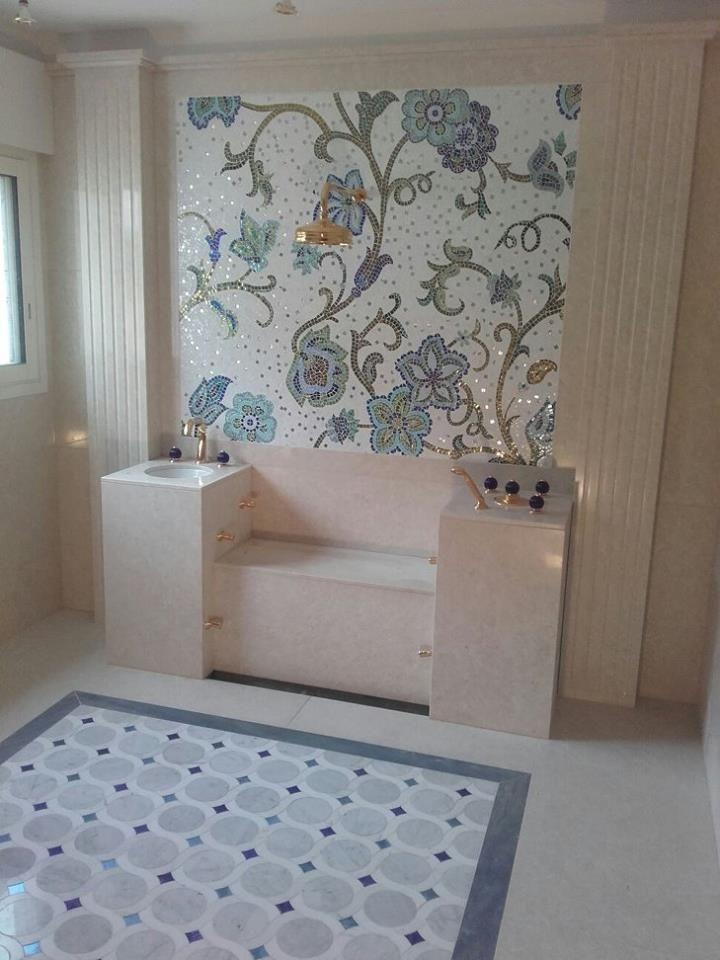 realizzazione sale da bagno in villa signorile