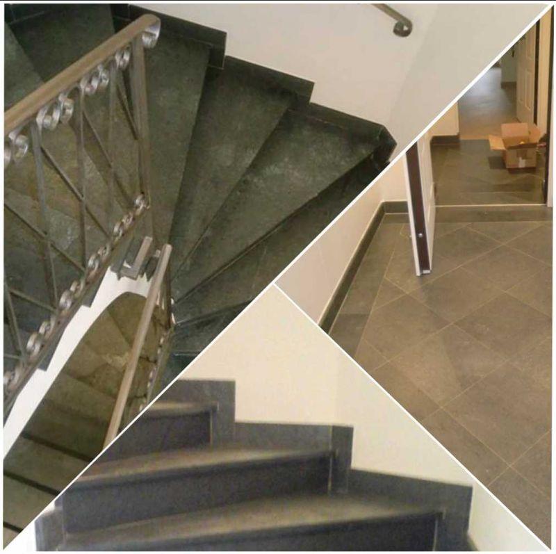Fornitura pavimentazione e scale