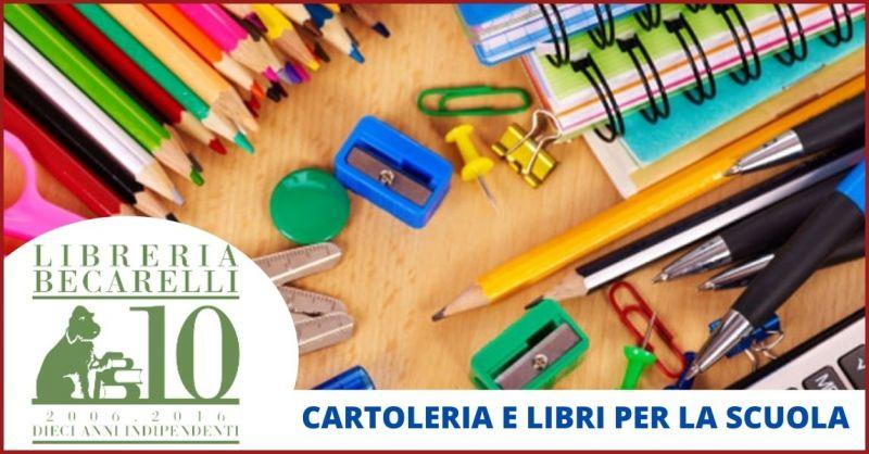 LIBRERIA BERCARELLI - offerta libri di scuola e articoli di cartoleria per la scuola Siena