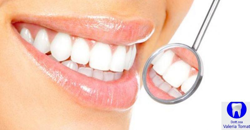 Dottoressa Valeria Tomat occasione studio dentistico Udine - offerta prevenzione denti