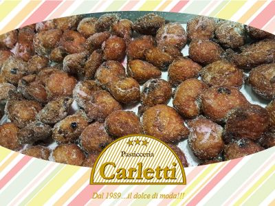 offerta frittelle riso e mele promozione dolci artigianali pasticceria carletti