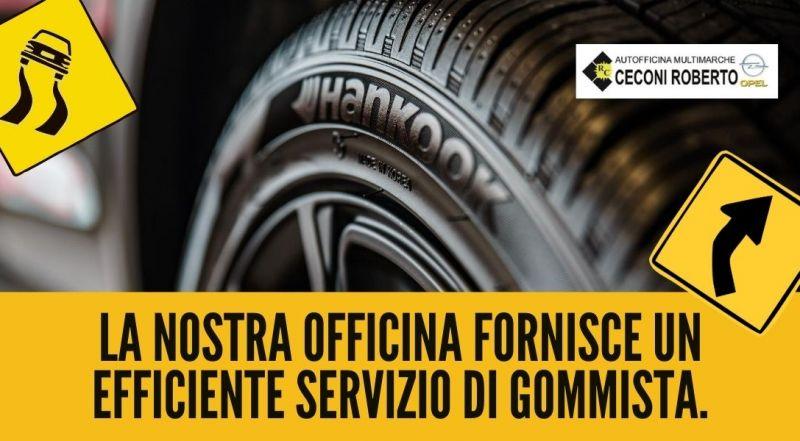 Occasione servizio banco convergenze e cambio gomme a Udine – offerta gommista pneumatici di ogni marchio a Udine