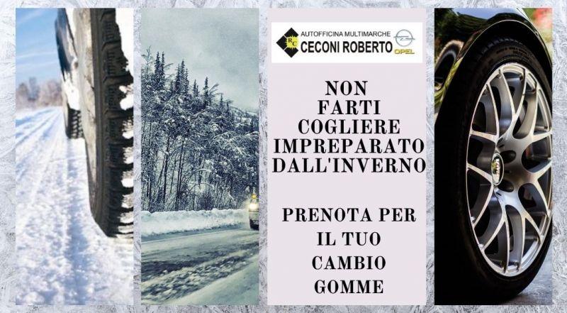 Occasione cambio da gomme estive a invernali a Udine – Offerta cambio gomme invernali a Udine