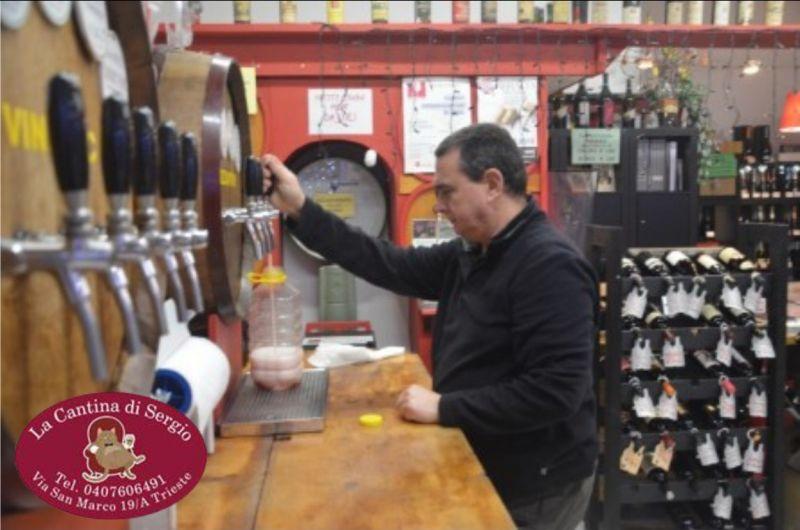 LA CANTINA DI SERGIO offerta vendita vino sfuso bianco - occasione vendita vino sfuso rosso