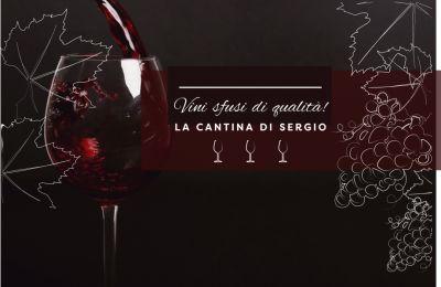 la cantina di sergio offerta punto vendita vino sfuso rosso promozione vini bianchi alla spina