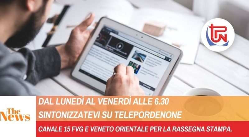 Offerta notiziario n tempo reale a Pordenone – Occasione rassegna stampa a Pordenone