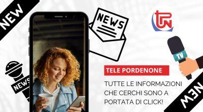 occasione telegiornale di zona sullo smartphone a pordenone offerta notizie in tempo reale on line a pordenone