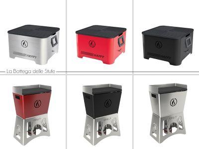 offerta vendita e distribuzione barbecue a pellet trasportabili la bottega delle stufe