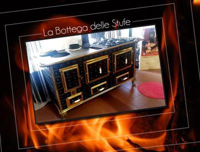 offerta vendita stufa cucina a legna e gas professionale vicino torino la bottega delle stufe