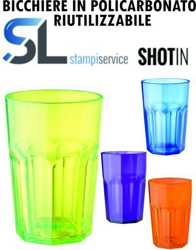 offerta imperdibile bicchiere in policarbonato riutilizzabile