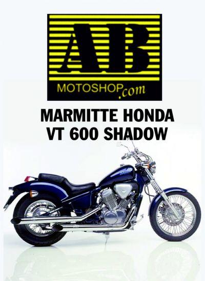 marmitte honda vt 600 shadow