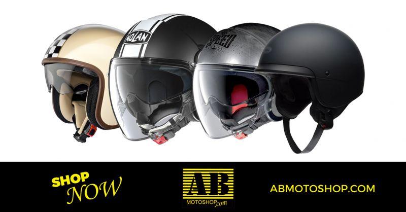 offerta vendita caschi moto jet macerata - occasione caschi moto integrali macerata