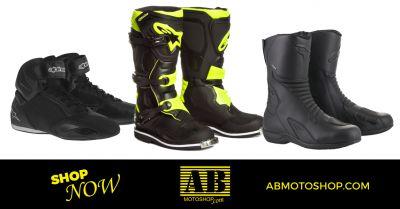 offerta scarpe stivali moto touring civitanova occasione calzature moto enduro civitanova