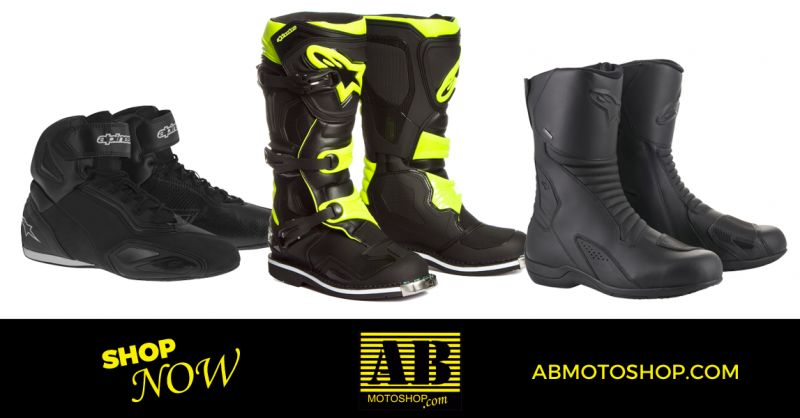 offerta scarpe stivali moto touring civitanova - occasione calzature moto enduro civitanova