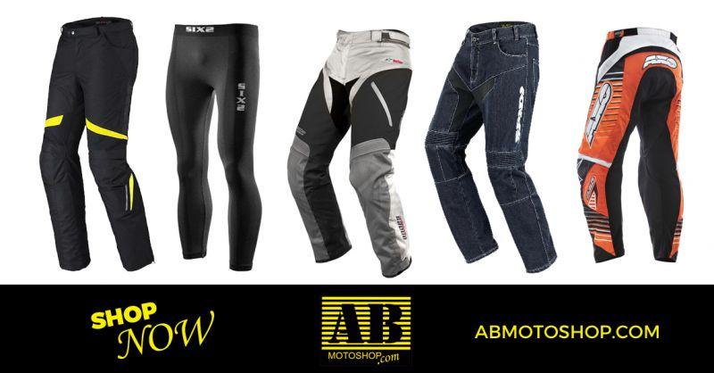 offerta pantaloni da moto protettivi jeans - occasione pantaloni motocross civitanova marche