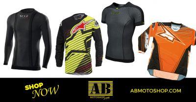 offerta vendita maglia tecnica moto civitanova marche occasione intimo tecnico moto macerata