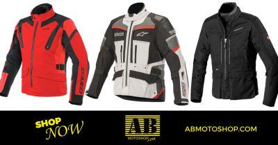 ab moto shop offerta vendita giacche da moto civitanova marche