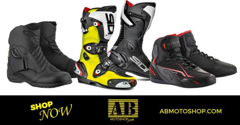 AB MOTO SHOP - Offerta Vendita Calzature per Motociclisti Civitanova Marche