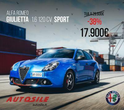 alfa romeo giulietta 1 6 120cv sport 17 900